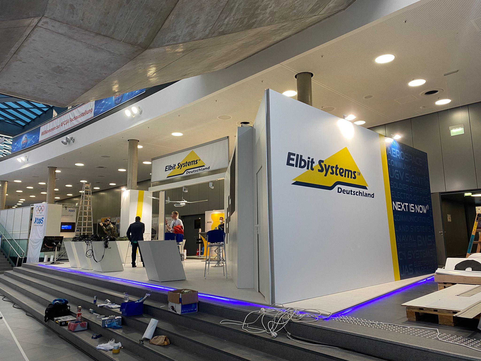 Messestand Elbit Systems Deutschland